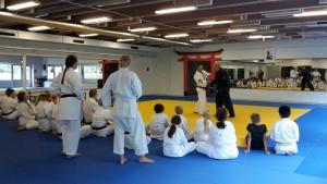 Besök hos karateklubben 1